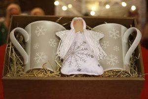 Vánoční balíček stříbrný