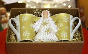 Vánoční balíček zlatý