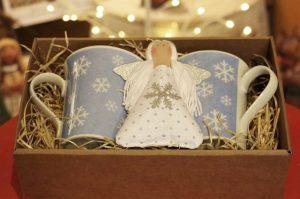 Vánoční balíček modrý
