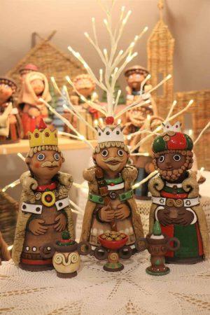 Tři králové + 3 dary, 25 cm